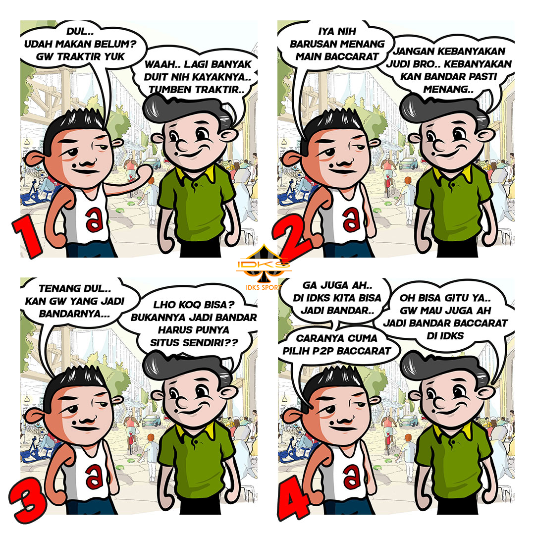 Komik bandar Baccarat