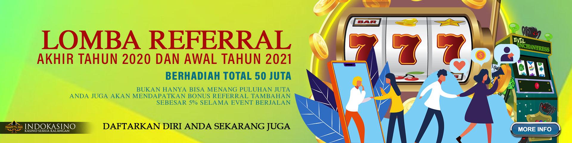 LOMBA REFERRAL IDKS AKHIR TAHUN 2020 DAN AWAL TAHUN 2021 BERHADIAH TOTAL 50 JUTA