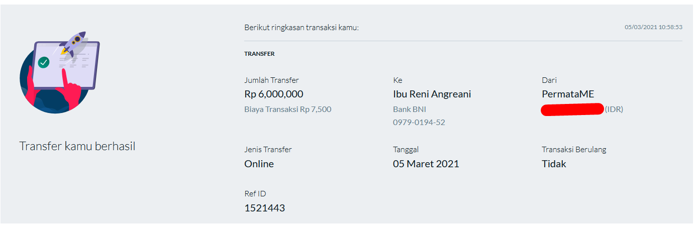 Lomba Referral Reni Menang 6Juta