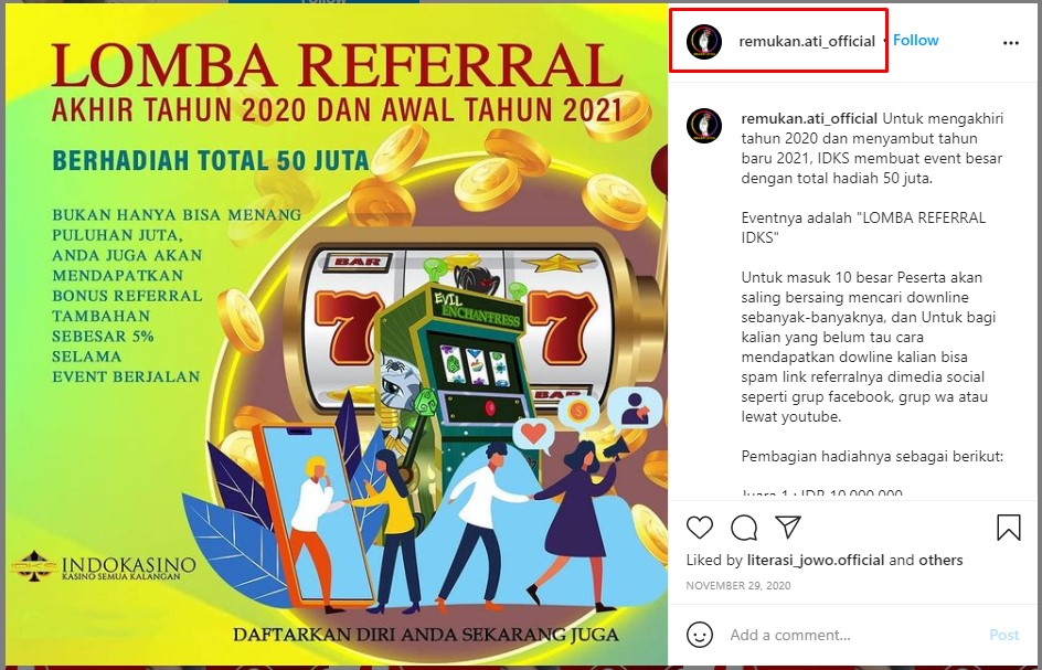 Lomba referral