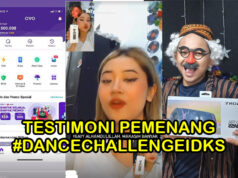 Testimoni pemenang dancechallengeidks