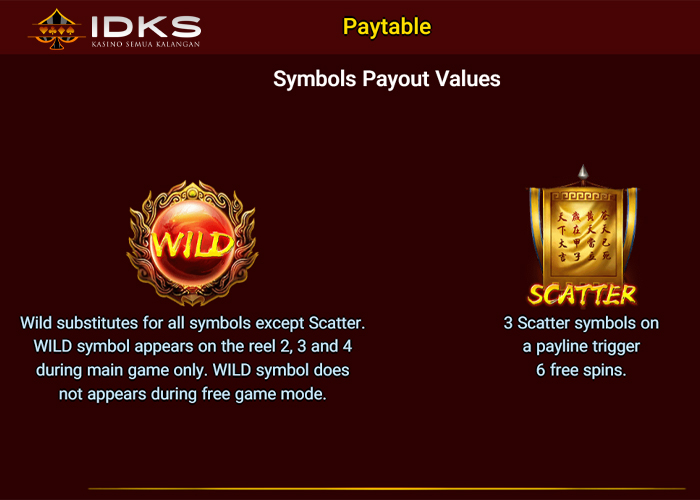 Wild pay IDKS