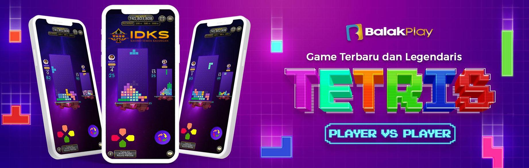 Info IDKS - Panduan Bermain Tetris Online Pada Provider BalakPlay